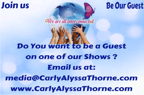 Be a Guest on our Show