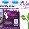 Molly Maid - Mutual Ground Featured Domestic Violence Awareness Month on Community Voices with Carly Alyssa Thorne