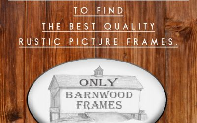 Finding The Best Rustic Picture Frames For When You Are Decorating The Nursery Or Your Home Is Easy – Expressive Mom