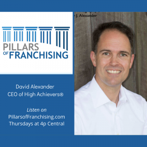 Pillars of Franchising - David Alexander - High Achievers - data tools