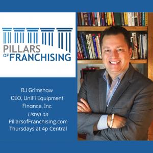 Pillars of Franchising - RJ Grimshaw - Home Care Boom - Equipment finance