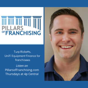 Pillars of Franchising - Turp Ricketts of UniFi Equipment