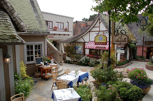 Cafe in Carmel