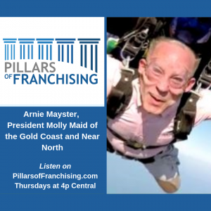 Pillars of Franchising, Arnie Mayster - Chicago residential cleaning