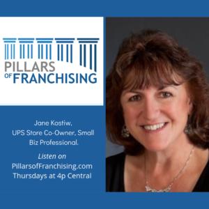 Pillars of Franchising - Jane Kostiw - husband-wife franchise