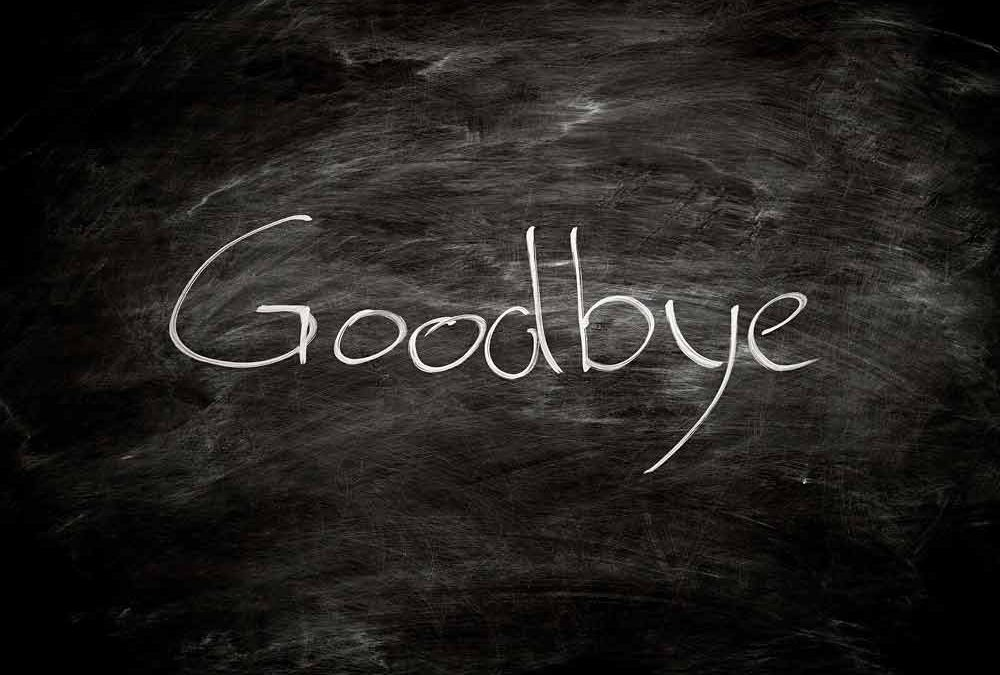 Saying Good-Bye (to a Baseball Coach?)