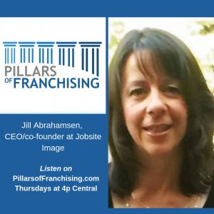 Pillars of Franchising - Jill Abrahamsen - CEO co-founder Jobsite Image