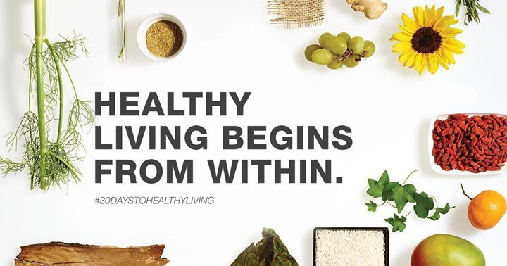Healthy living starts from within