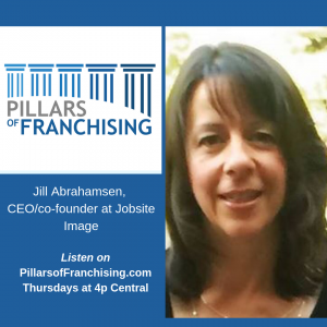 Pillars of Franchising - Jill Abrahamsen - CEO co-founder Jobsite Image