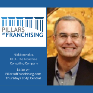 Pillars of Franchising - Nick Neonakis - The Franchising Consulting Company = Selecting the right opportunity