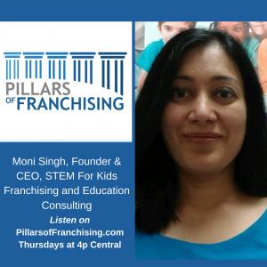 Pillars of Franchising - Moni Singh - STEM for Kids