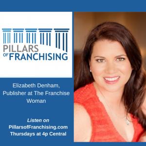 Pillars of Franchising - Elizabeth Denham, Publisher -t The Franchise Woman - Women in Business November 2019