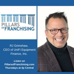 Pillars of Franchising - RJ Grimshaw - Coronavirus Equipment Financing