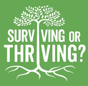 Surviving? or Thriving? – YOUR CHOICE? Join me on THE ROAD TO RECOVERY!
