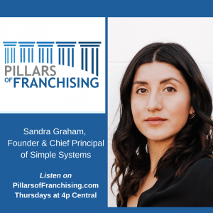 Pillars of Franchising - Sandra Graham, Founder & Chief Principal of Simple Systems