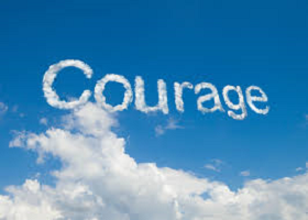 Courage is NOT YOUR AVERAGE 4 LETTER WORD… Join me on MY ROAD to RECOVERY …