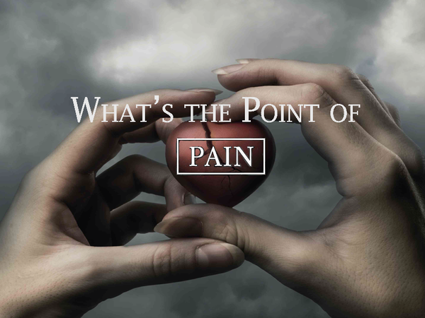 Life Hurts God Heals - What's the Point of Pain? - Kurt Pflegl - Linked Local Network