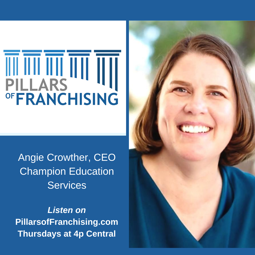Pillars of Franchising - Angie Crowther - Champion Education Services