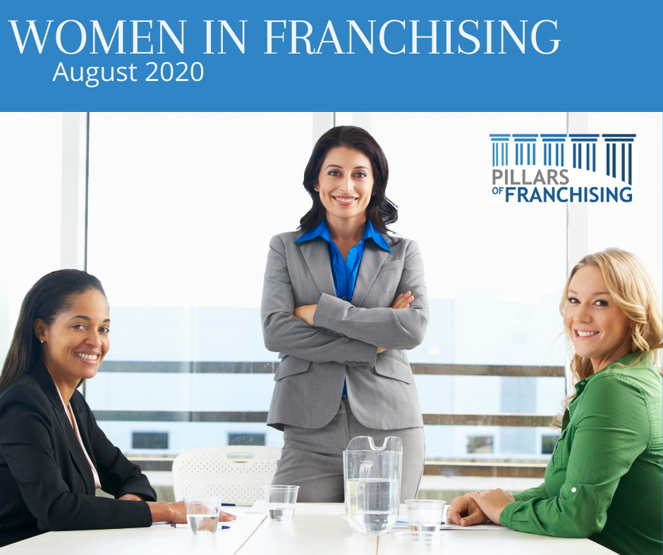 Women in Franchising August 2020 – Pillars of Franchising