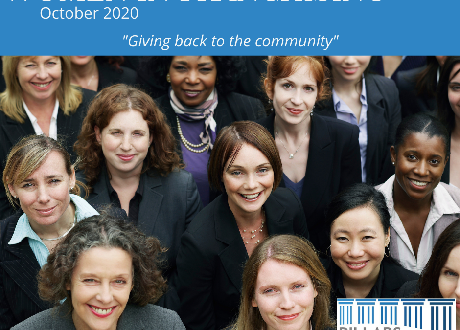 Women in Franchising October 2020 – Giving Back to the Community