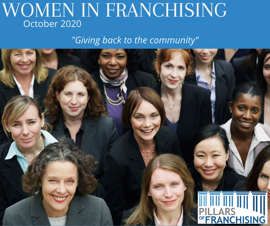Pillars of Franchising - Giving Back to the Community - October 2020