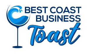 Best Coast Business Toast - Ron Reilly - Andrea Turnquist - Linked Local Network